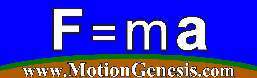 MotionGenesis: F=ma Software, textbooks, training, consulting.